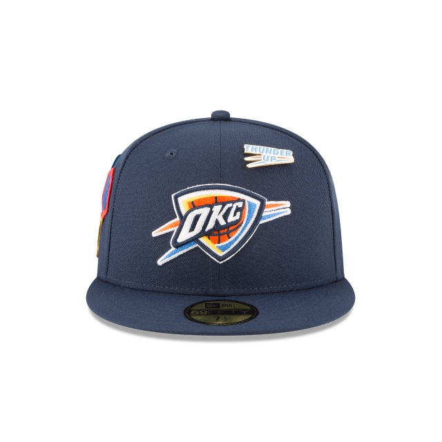 Oklahoma City Thunder NBA Draft 2018 59Fifty Cerrada Vista frontal