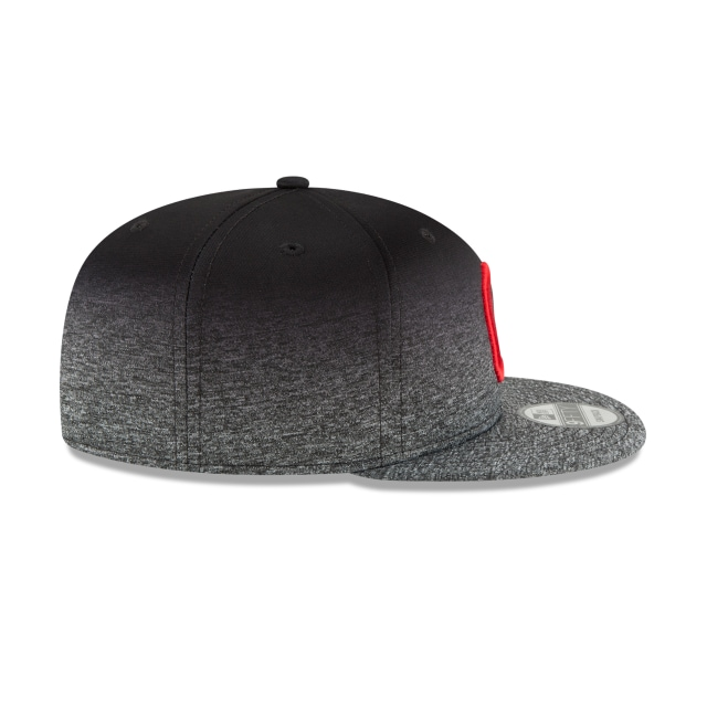 Cleveland Indians Shadow Faded  9Fifty Snapback Vista derecha