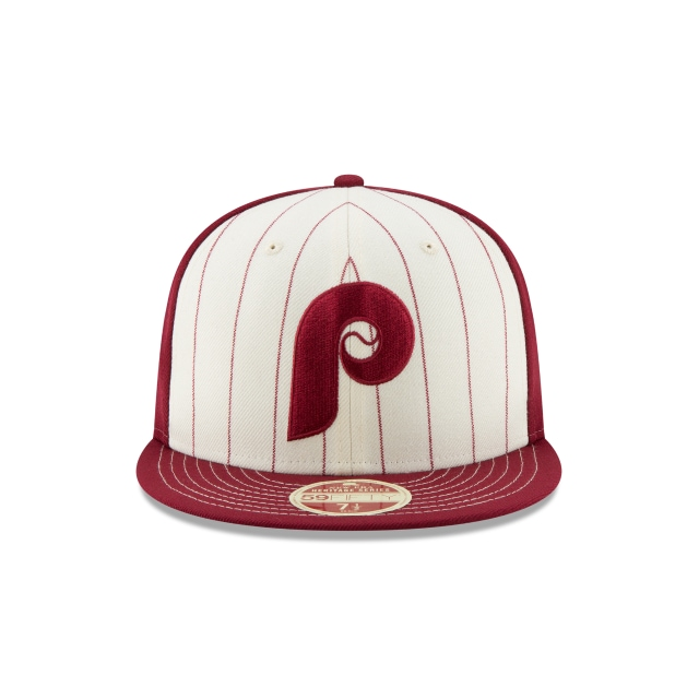 Philadelphia Phillies Injection Pack Vintage Stripe  59Fifty Cerrada Vista frontal