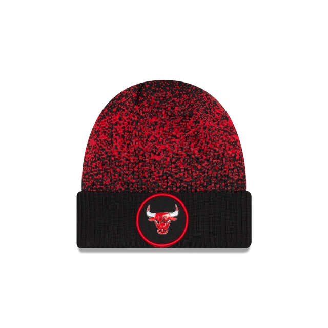 Chicago Bulls Nba On-court 2017  Knit | Nba 17 Onc Cuff Otc Caps | New Era Cap