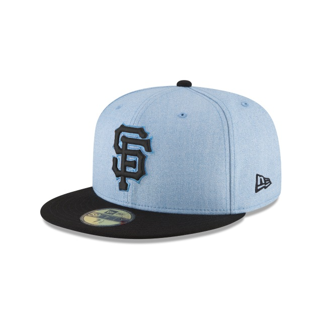 San Francisco Giants Father´s Day 18 59Fifty Cerrada Vista izquierda tres cuartos
