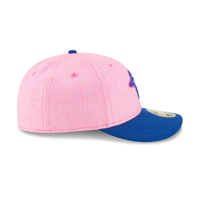 Toronto Blue Jays MLB Mothers Day 18 59Fifty LP Cerrada Vista derecha