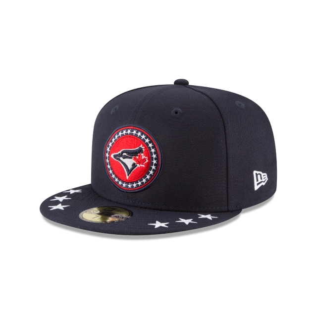 Toronto Blue Jays MLB All-Star Game 2018  59Fifty Cerrada Vista izquierda tres cuartos