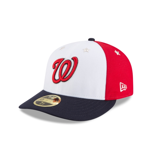 Washington Nationals MLB All-Star Game 2018  59Fifty LP Cerrada Vista izquierda tres cuartos