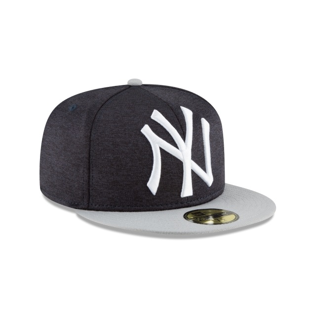 New York Yankees Heather Huge Fit  59Fifty Cerrada Vista derecha tres cuartos