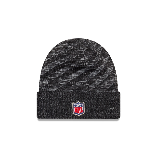 Oakland Raiders Nfl Cold Weather 2018  Knit | Oakland Raiders Caps | New Era Cap