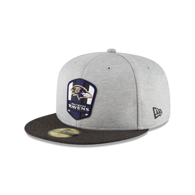 Baltimore Ravens Nfl Sideline Attack 59fifty Cerrada | New Era Cap