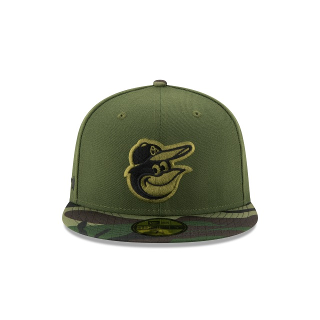 Baltimore Orioles Memorial Day 2017  59Fifty Cerrada Vista frontal