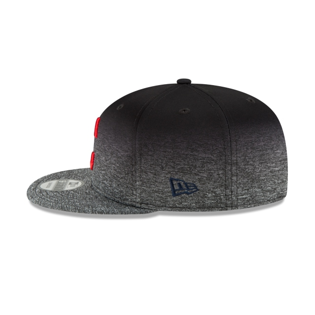 Cleveland Indians Shadow Faded  9Fifty Snapback Vista izquierda