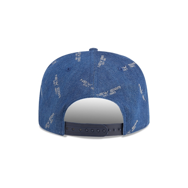 New Era The Golfer Denim Vista trasera