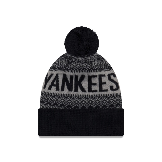 New York Yankees Wintry Pom  Knit | New York Yankees Caps | New Era Cap