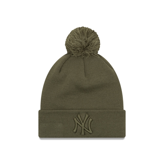 New York Yankees Essential Mujer Knit Vista frontal