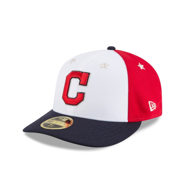 Cleveland Indians MLB All-Star Game 2018  59Fifty LP Cerrada Vista izquierda tres cuartos