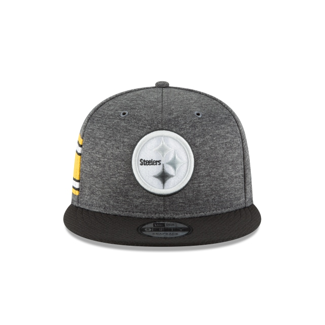 Pittsburgh Steelers NFL Sideline Defend 2018 Niño 9Fifty Snapback Vista frontal
