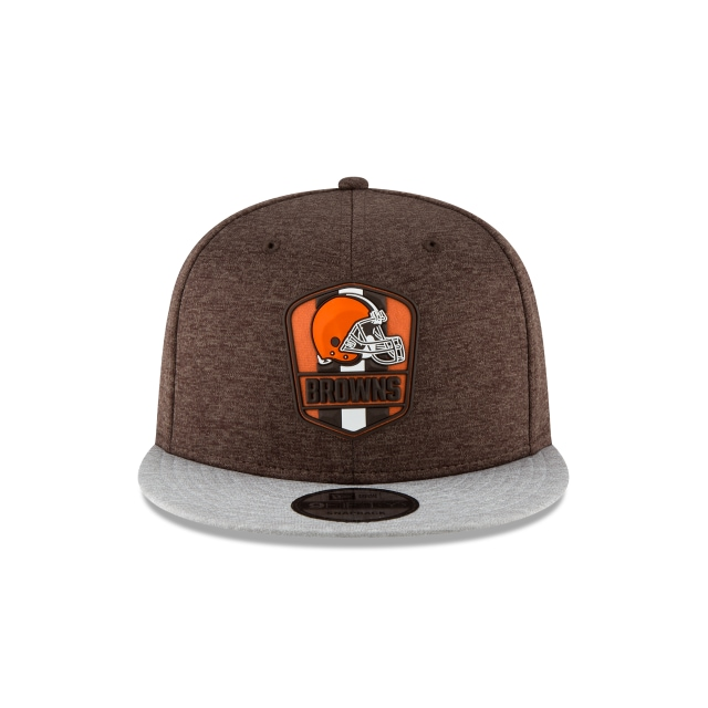 Cleveland Browns NFL Sideline Attack 9Fifty Snapback Vista frontal