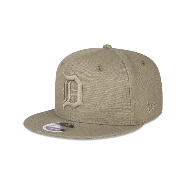 Detroit Tigers Canvas  9fifty Of Snapback | New Era Cap