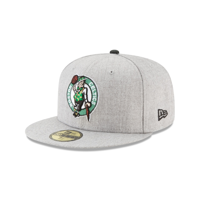 Boston Celtics Heather Hype Fit  59fifty Cerrada | New Era Cap