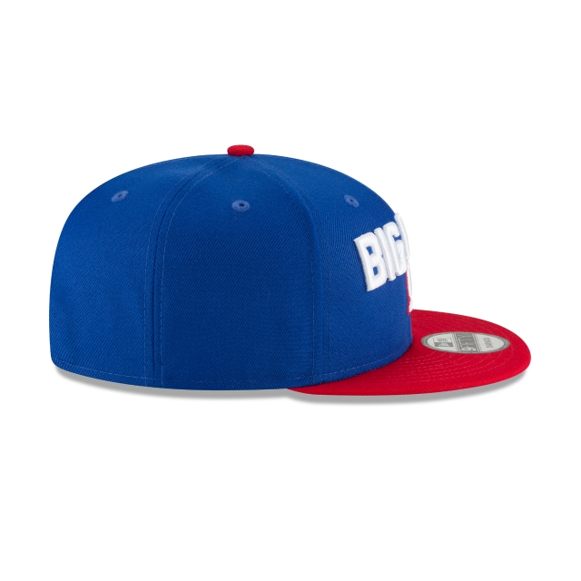 New York Giants Draft NFL 2018 9Fifty Snapback Vista derecha