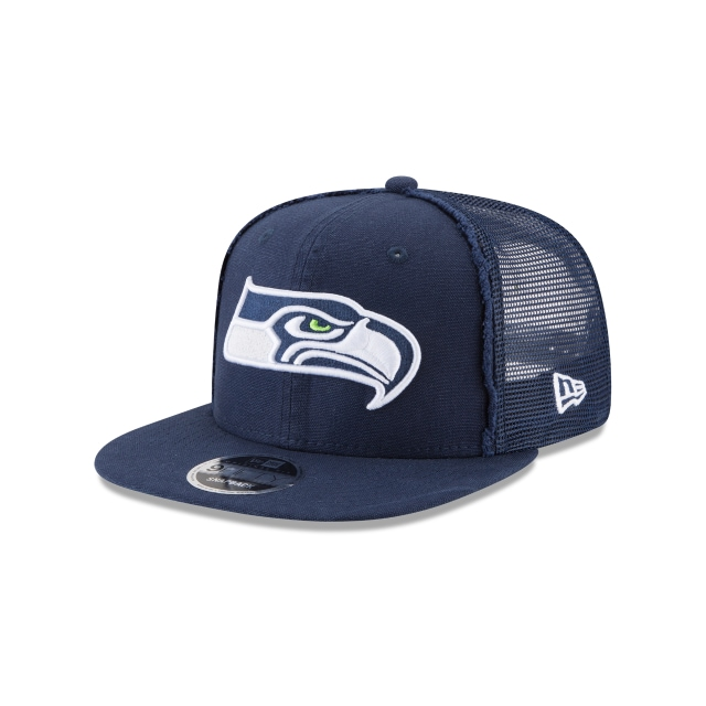 Seattle Seahawks Trucker Worn 9fifty Of Snapback | Seattle Seahawks Caps | New Era Cap