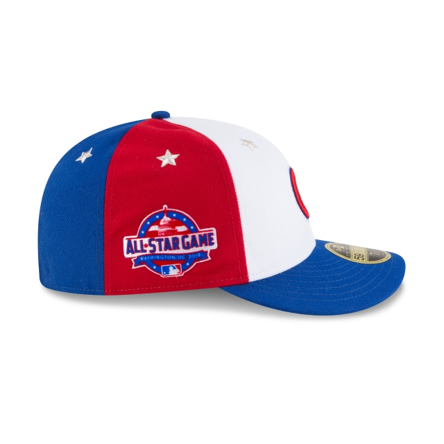 Chicago Cubs MLB All-Star Game 2018  59Fifty LP Cerrada Vista derecha