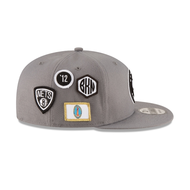 Brooklyn Nets NBA Draft 2018 9Fifty Snapback Vista derecha