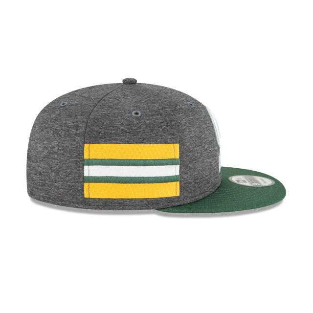 Green Bay Packers Nfl Sideline Defend 2018 9fifty Snapback | Green Bay Packers Caps | New Era Cap