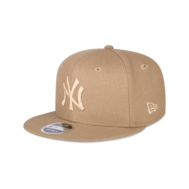 New York Yankees Canvas  9fifty Of Snapback | New York Yankees Caps | New Era Cap
