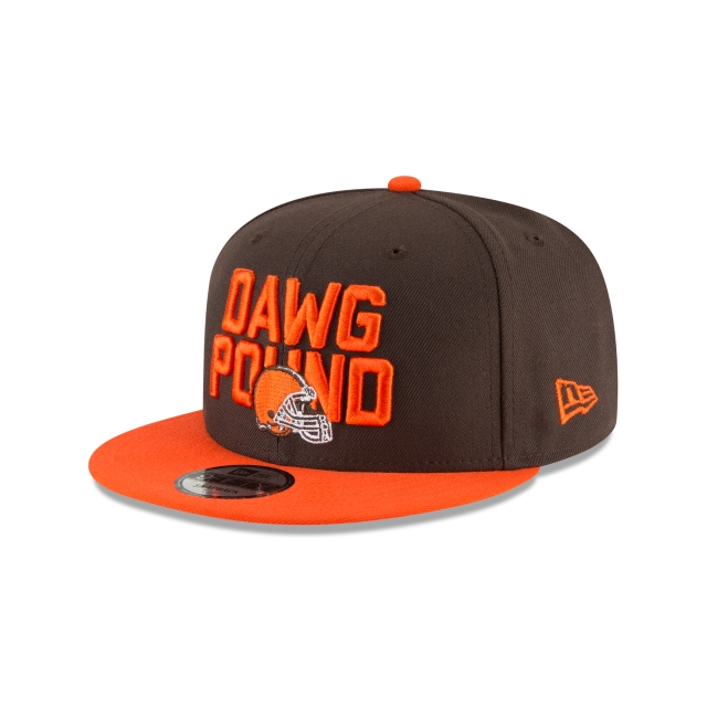 Cleveland Browns Draft NFL 2018 9Fifty Snapback 3 quarter left view