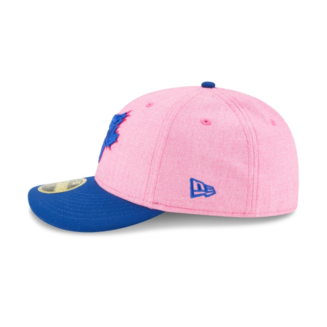 Toronto Blue Jays MLB Mothers Day 18 59Fifty LP Cerrada Vista izquierda