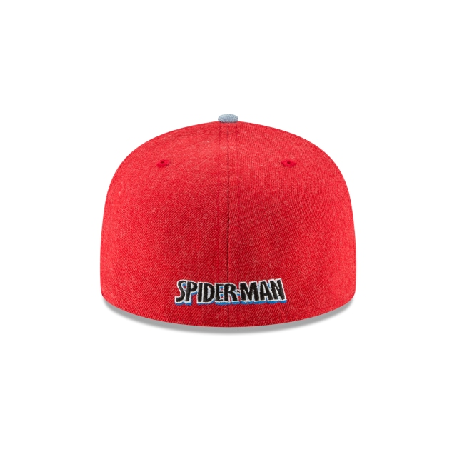 Spiderman Heather Hype Fit  59Fifty Cerrada Vista trasera
