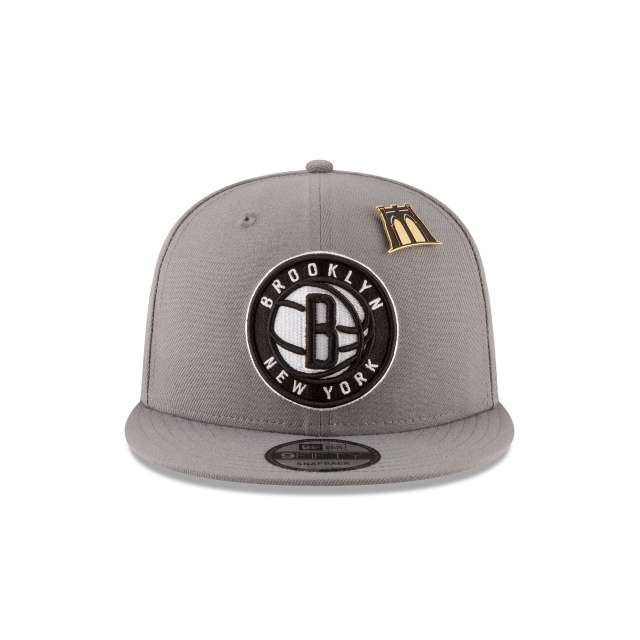 Brooklyn Nets NBA Draft 2018 9Fifty Snapback Vista frontal