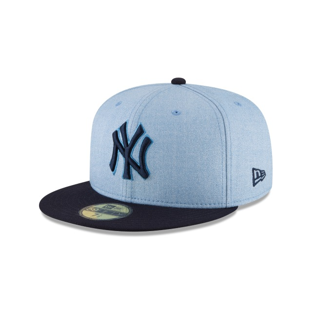 New York Yankees Father´s Day 18 59Fifty Cerrada Vista izquierda tres cuartos