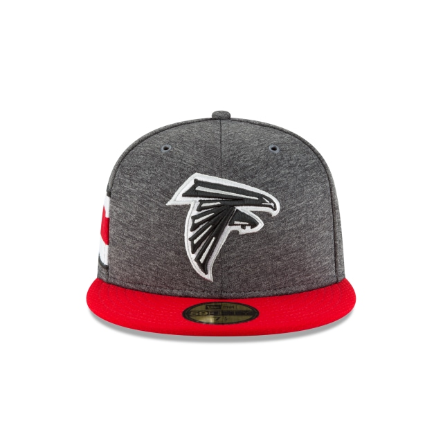 Atlanta Falcons NFL Sideline Defend 2018  59Fifty Cerrada Vista frontal