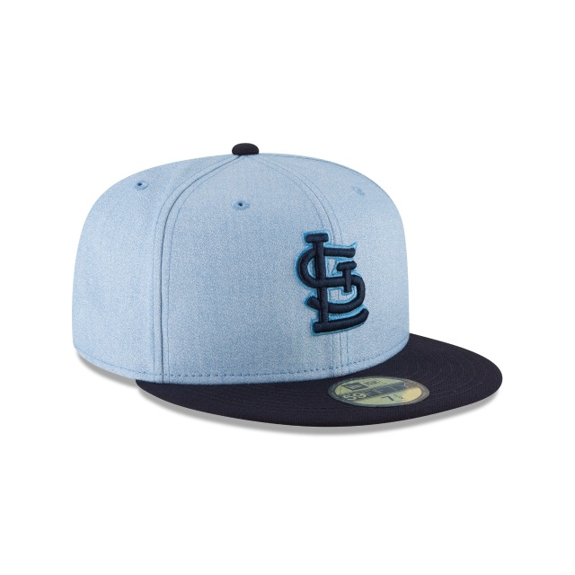 St. Louis Cardinals Father´s Day 18 59Fifty Cerrada Vista derecha tres cuartos
