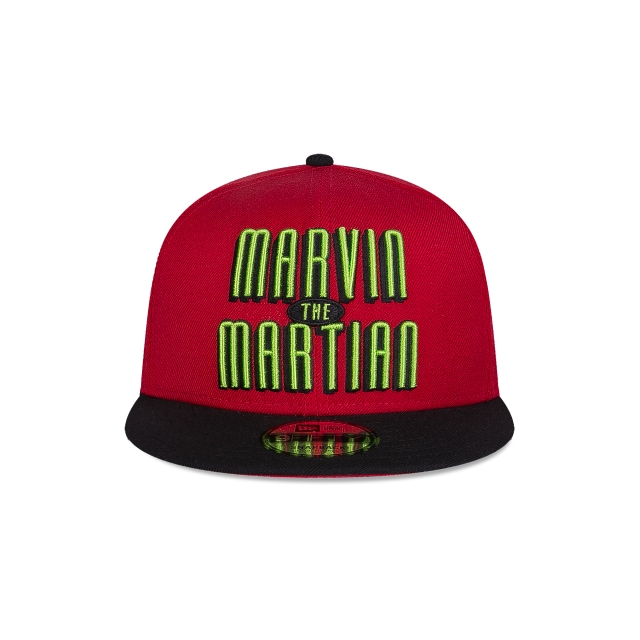 Marvin The Martian Looney Tunes  9Fifty Snapback Vista frontal