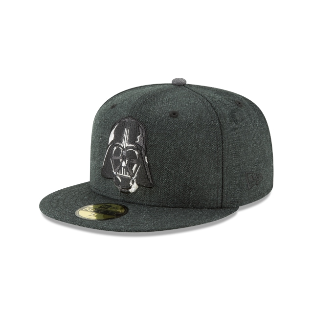 Darth Vader Heather Hype Fit  59Fifty Cerrada Vista izquierda tres cuartos