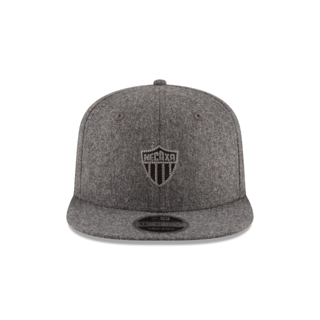 Rayos Del Necaxa Futbol Mexicano  9Fifty OF Snapback Vista frontal