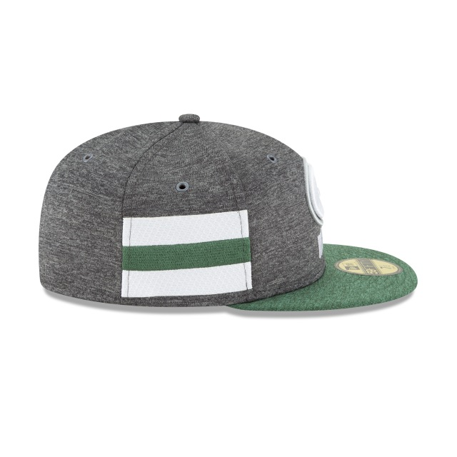 Green Bay Packers NFL Sideline Defend 2018  59Fifty Cerrada Vista derecha