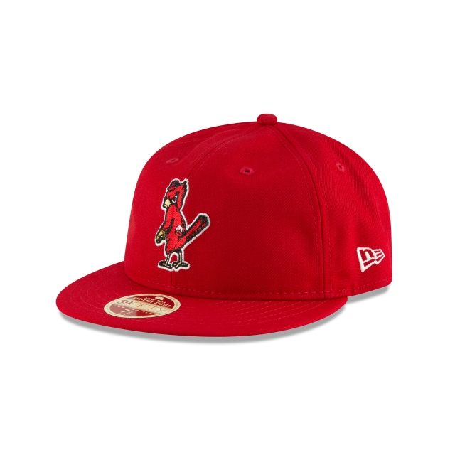 St. Louis Cardinals Injection Pack Vintage Stripe  59Fifty RC Cerrada Vista izquierda tres cuartos