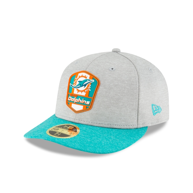 Miami Dolphins Nfl Sideline Attack 59fifty Lp Cerrada | New Era Cap