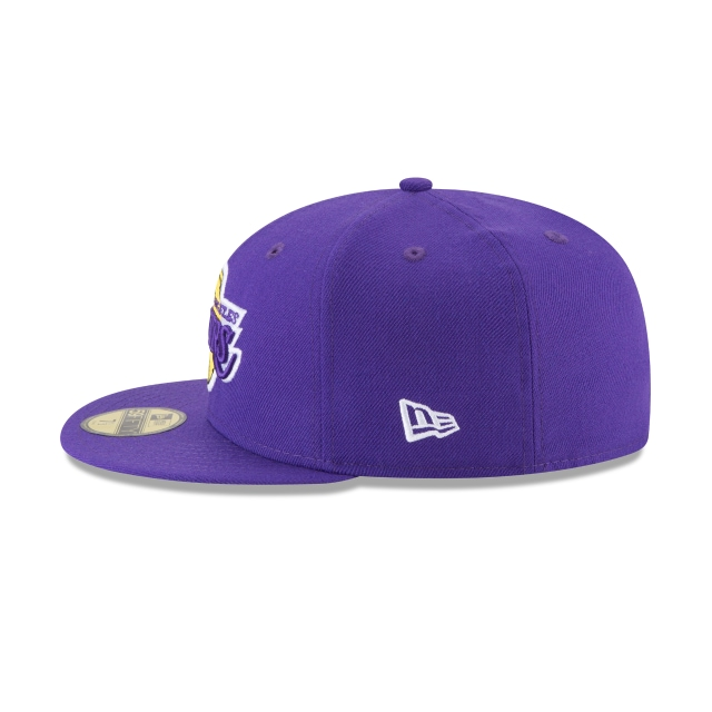 Los Angeles Lakers Wool Standard 59Fifty Cerrada Vista izquierda