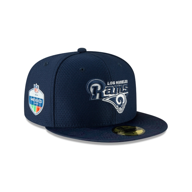 Los Angeles Rams Nfl México Game 2018  59fifty Cerrada | Los Angeles Rams Caps | New Era Cap