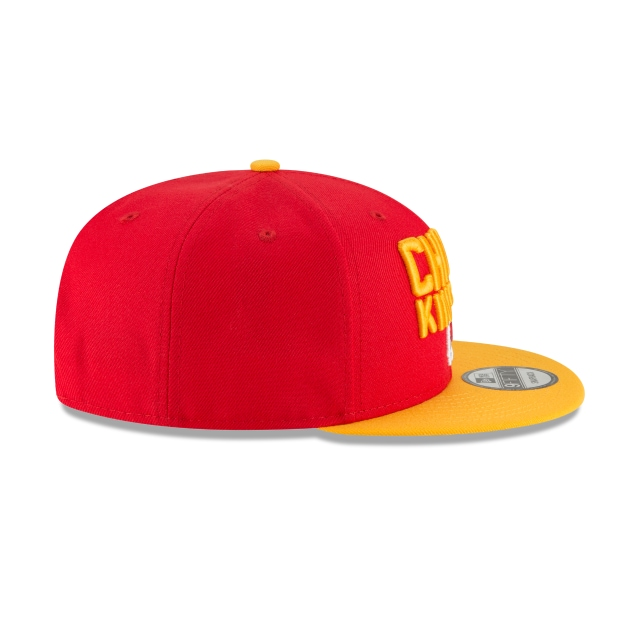 Kansas City Chiefs Draft NFL 2018 9Fifty Snapback Vista derecha