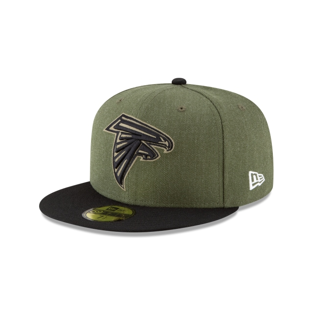 Atlanta Falcons Nfl Salute To Service 2018  59fifty Cerrada | New Era Cap