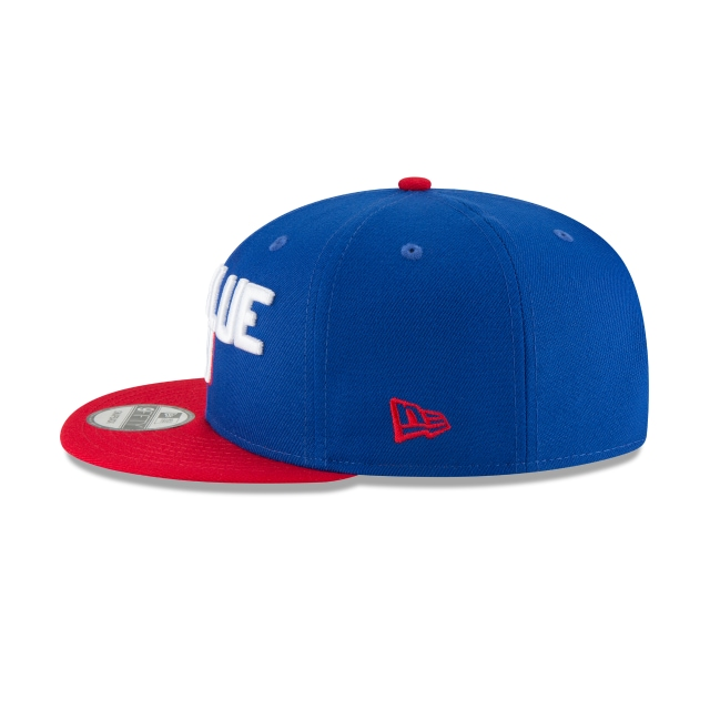 New York Giants Draft NFL 2018 9Fifty Snapback Vista izquierda