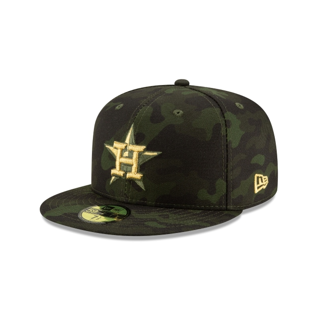 Houston Astros Mlb Armed Forces Day 2019  59fifty Cerrada | Houston Astros Caps | New Era Cap