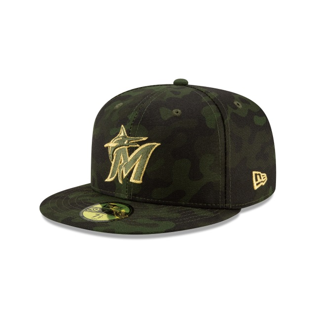 Miami Marlins Mlb Armed Forces Day 2019  59fifty Cerrada | New Era Cap