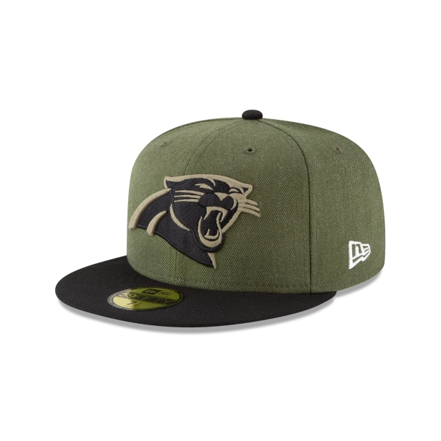 Carolina Panthers Nfl Salute To Service 2018  59fifty Cerrada | New Era Cap