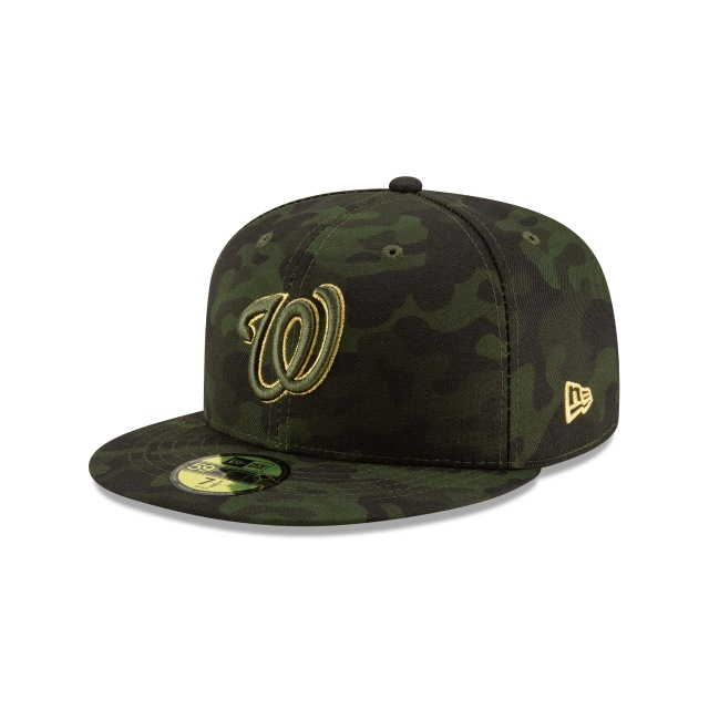 Washington Nationals Mlb Armed Forces Day 2019  59fifty Cerrada | New Era Cap