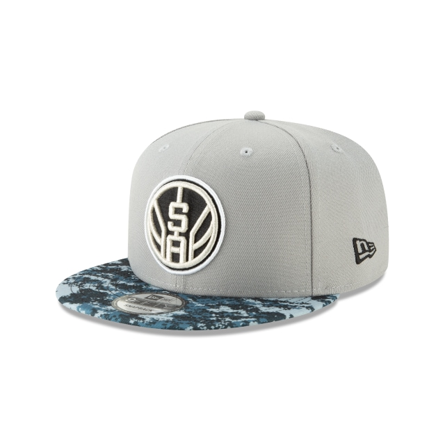 San Antonio Spurs NBA City Series 2018  9Fifty Snapback Vista izquierda tres cuartos
